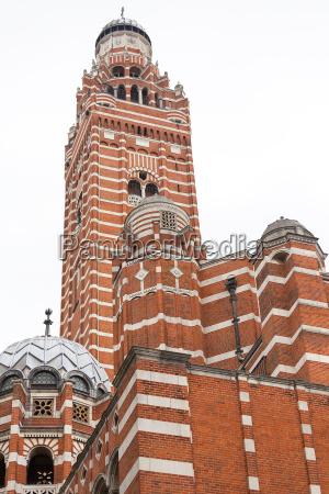 westminster cathedral katholische kirche im neobyzantinischen