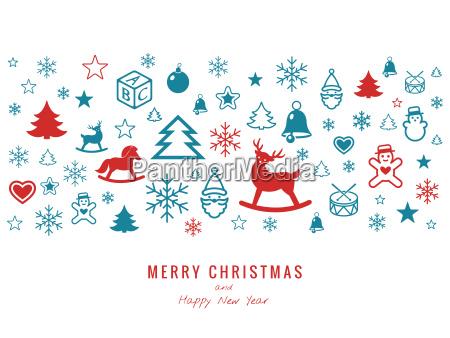 digital vector white happy new year