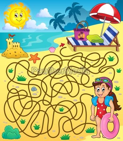 riva del mare spiaggia costa labirinto