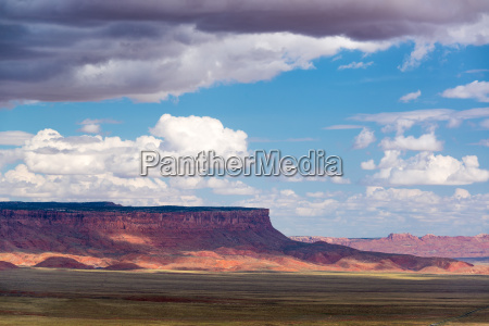 dramatic landscape in arizona
