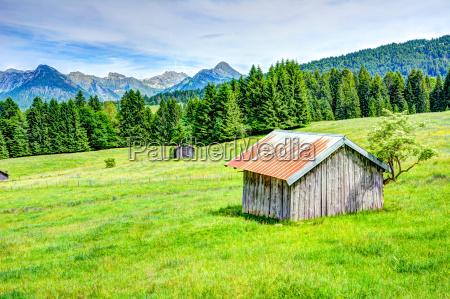 berglandschaft im allgaeu