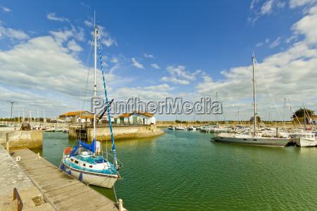 yacht at marina by quai de