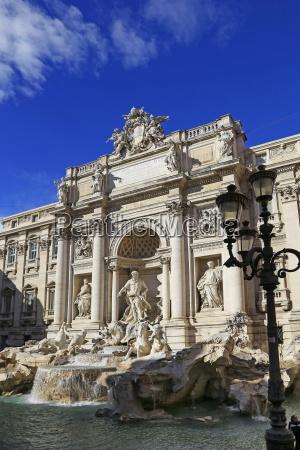 fontana di trevi rome lazio italy