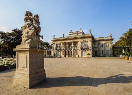 royal baths park lazienki palace warsaw