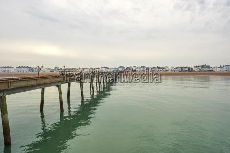 deal strandpromenade von deal pier deal