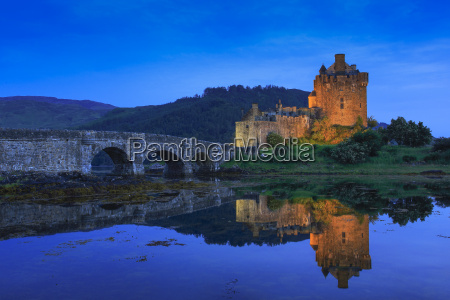 eilean donan castle highlands scotland united