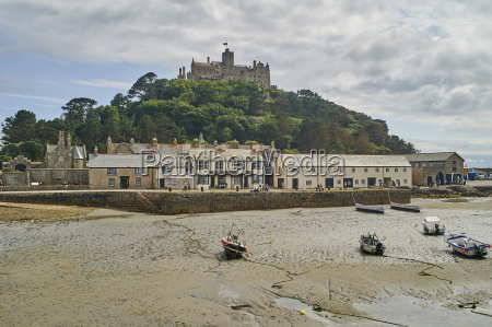 view of st michaels mount from