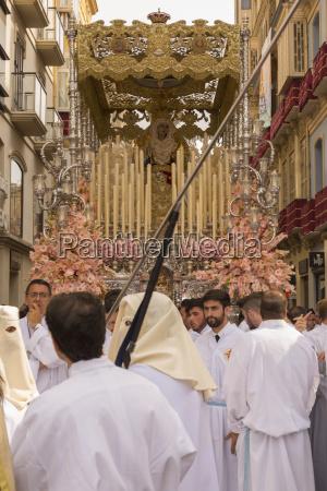 einheimische die an der auferstehungs parade