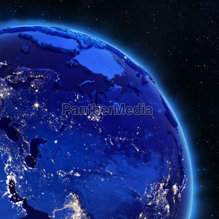 russland 3d planeten
