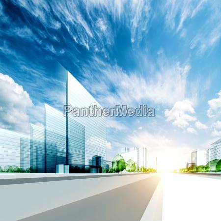 modern city project