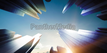 city concept background