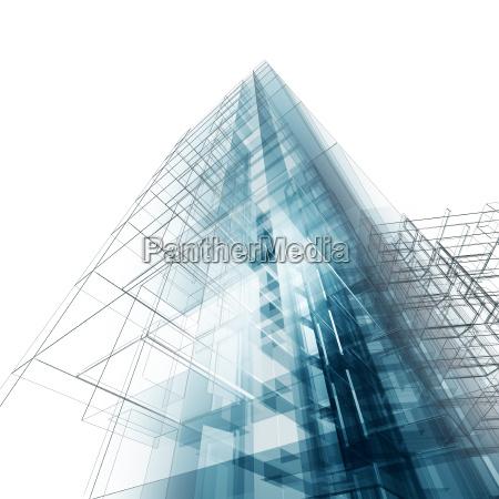 construction architecture concept image