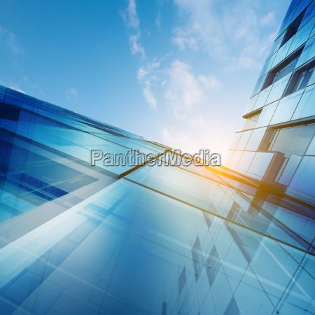 skyscraper abstract concept