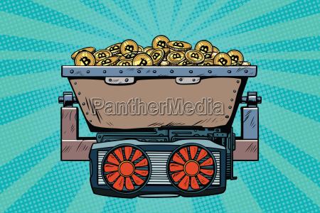 bergbau trolley mit krypto unfall bitcoin