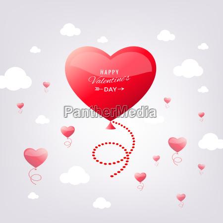 digitale vektor rote herz textur valentinstag