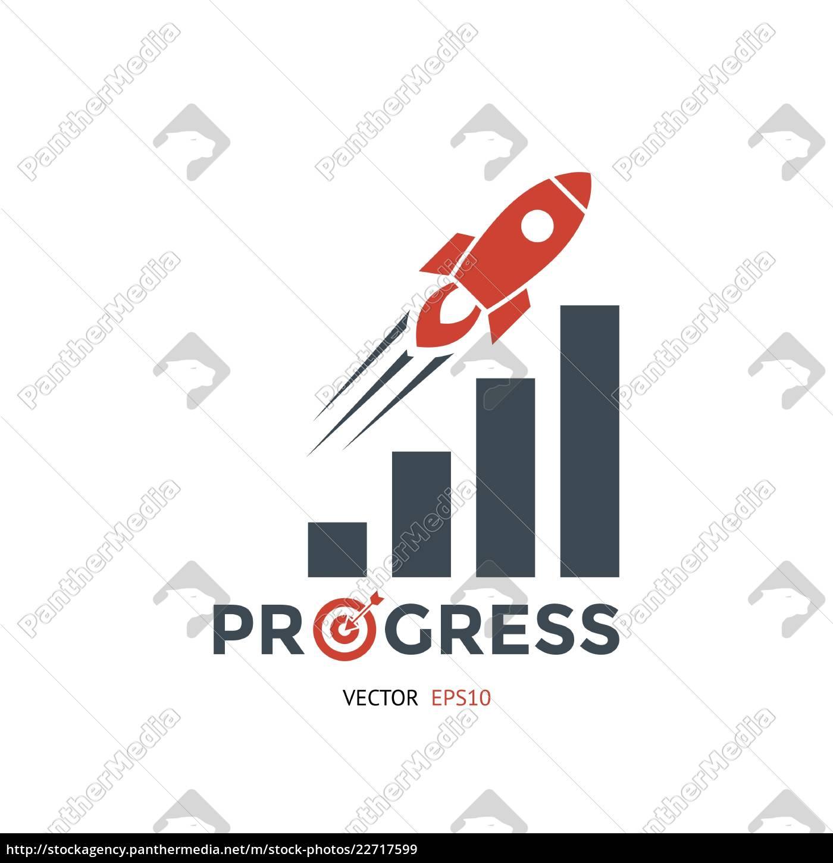 digitale, vektor, rot, schwarze, startup-icons, mit - 22717599