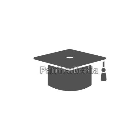 mortarboard symbol fuer absolvent