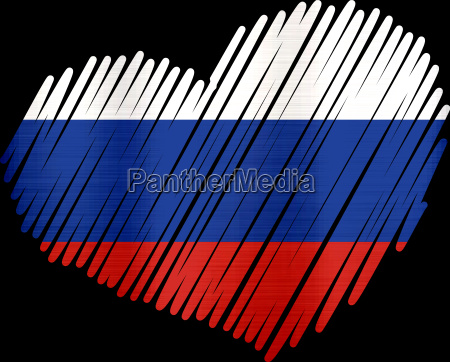 lined heart russia metallic texture