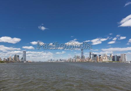 usa new york city manhattan panorama