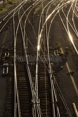 railway tracks and junctions