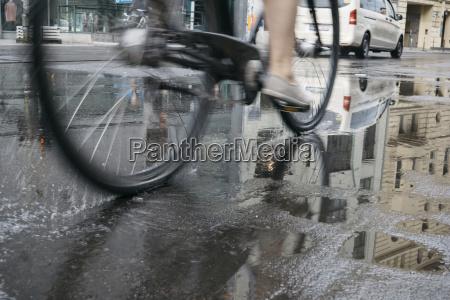 reiten fahrrad in