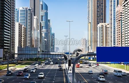 traffic jam bei sheikh zayed road