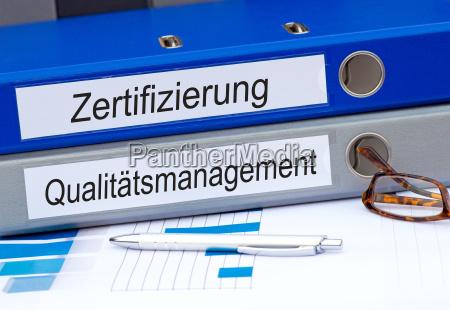 zertifizierung und qualitaetsmanagement