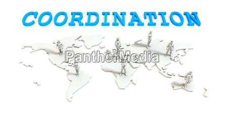 koordination global business