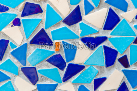 mosaic tiles of colorful abstract for
