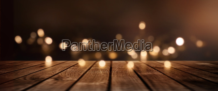 christmas background with golden lights for