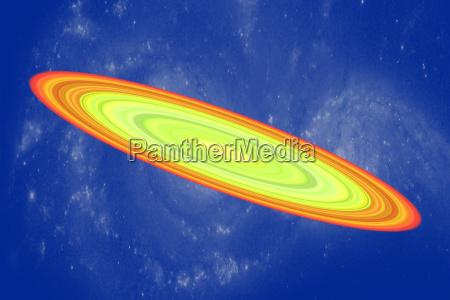 galaxie im weltraum