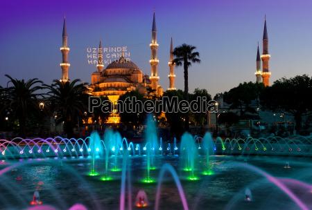 blau turm fahrt reisen religion stadt