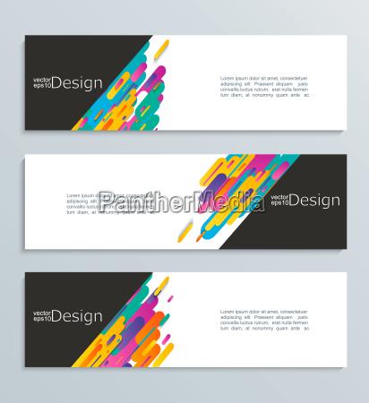 web banner for your design header