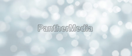 abstract silver bokeh winter background