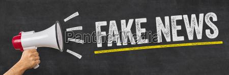 megaphon fake news