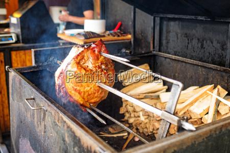 a fresh and tasty grilled pork