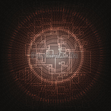 vektor abstrakte hintergrundtechnologie konzept