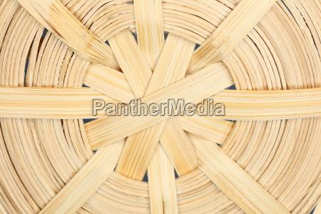 round braided wood structure