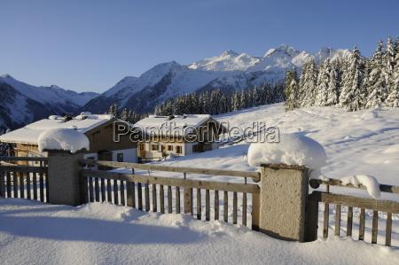 winter in hochkrimml