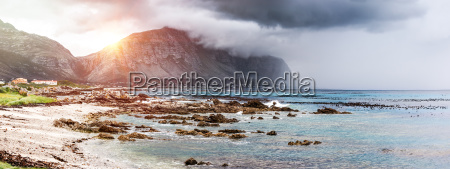 beautiful landscape of bettys bay
