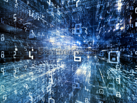 lights of digital world