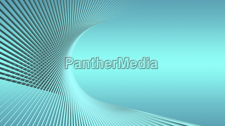 abstract geometric blue background with twisted