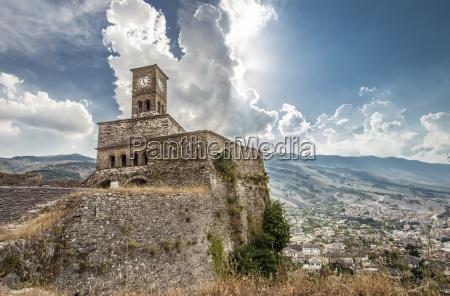 gjirokastra castle albania travel tip europe
