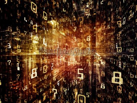 exploding digital space