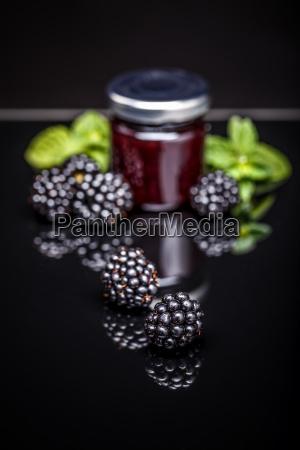 homemeade blackberry jam