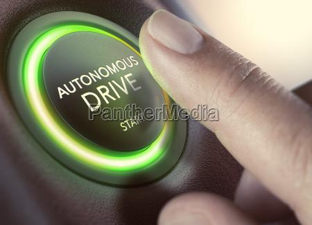 autonomer antriebselbstfahrendes fahrzeug