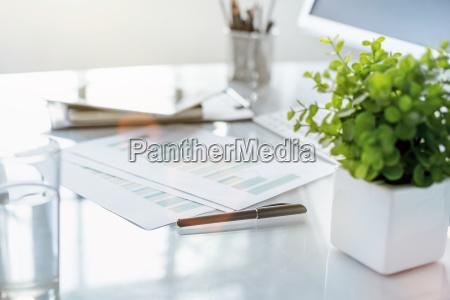 Das Abstrakte Office Desktop Stockfoto 22883979 Bildagentur