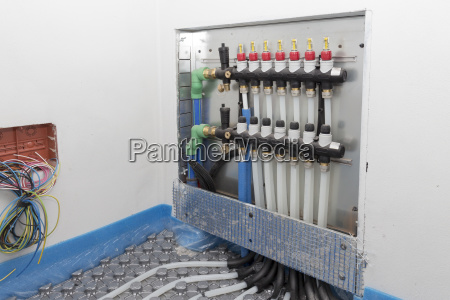 systembodenstrahlung mit polyethylenrohren