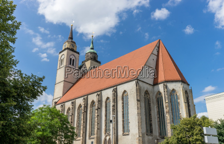st johns church in magdeburg germany