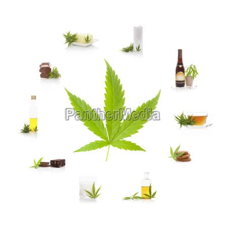 essbare cannabisprodukte